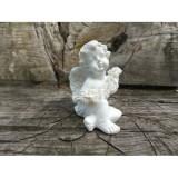 Фігурка Ангелик з квітами міні
