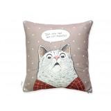Подушка Здивований кіт