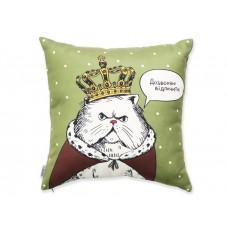 Подушка Кіт в короні