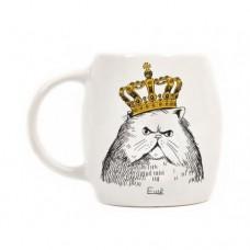 Чашка Кіт в короні