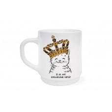 Чашка Котик в короні (дитяча)