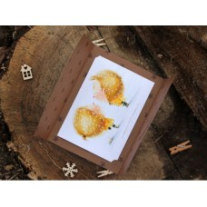 Листівка Сніжинки дарують свої поцілунки