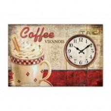 Годинник Кава з молоком