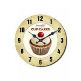 Годинник Cupcakes 34см