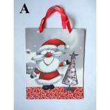 Пакет новорічний Санта 32см