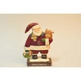 Фігурка Санта з котами