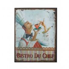Картина Bistro du chef 45 см