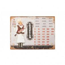 Вічний календар Сомельє 33см