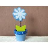 Візитниця-кліпса Квітка