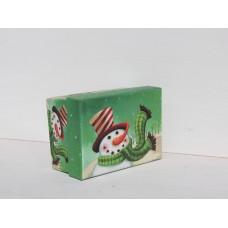 Коробка подарункова Сніговик 11см