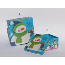 Набір коробок Сніговик