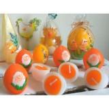 Свічки Яйця-половинки