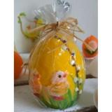 Пасхальна свічка-яйце